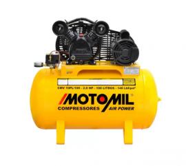 Compressor Monofásico AIR POWER 10PL/100 110-220V - MOTOMIL