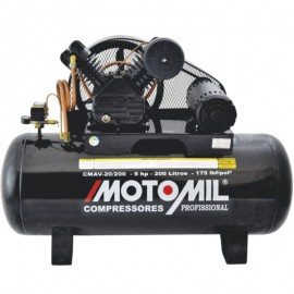 Compressor Trifásico 20/200 175LBS 220-380V - MOTOMIL