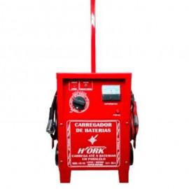 Carregador Bateria 50 AMP 12V Com Rodinhas CB50 - ORK