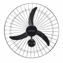 Ventilador de Parede 60CM NEW com Grade Metálica Preta - VENTISOL