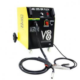 Máquina de Solda Mig 195BR Flex Mono - V8