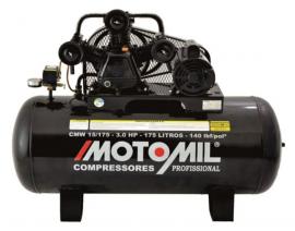 Compressor Monofásico 15/175 140LBS 110-220V - MOTOMIL