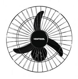 Ventilador de Parede 50CM NEW com Grade Metálica Preta - VENTISOL